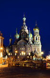 Cathedral of the Resurrection on Spilled Blood Royalty Free Stock Photos
