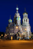 Cathedral of the Resurrection on Spilled Blood Royalty Free Stock Photography