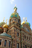 Cathedral of the Resurrection on Spilled Blood Royalty Free Stock Photo