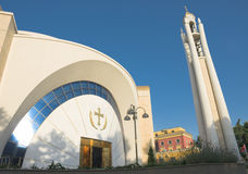 Cathedral Of Resurrection In Tirana Stock Photography