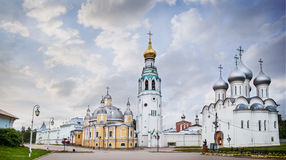 Cathedral of the Resurrection in Vologda Stock Images