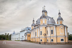 Cathedral of the Resurrection in Vologda Royalty Free Stock Image