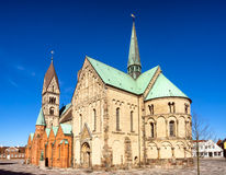 Cathedral in Ribe, Denmark Royalty Free Stock Photo