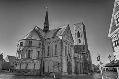Cathedral from Ribe, Denmark Stock Photo