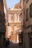 Cathedral at Riva del Garda on Lake Garda Italy Royalty Free Stock Photography