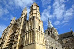 The Cathedral in Rochester. UK Stock Photos