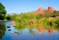 Cathedral Rock. In Sedona, Arizona Stock Image