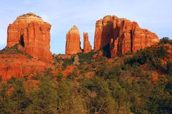 Cathedral Rock Royalty Free Stock Image