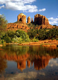 Cathedral Rock. In Red Rock Crossing by Sedona Royalty Free Stock Photos