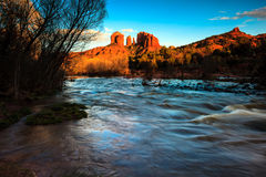 Cathedral Rock Stock Photography