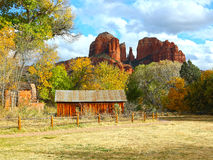 Cathedral Rock In Sedona Arizona Royalty Free Stock Photo