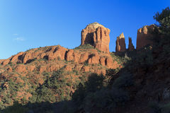 Cathedral Rock Landscape Royalty Free Stock Photos