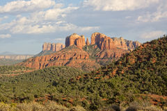 Cathedral Rock Landscape Stock Photography