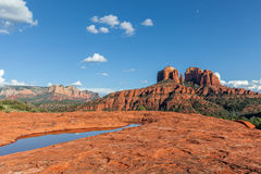 Cathedral Rock Landscape Stock Image