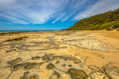 Cathedral Rock, Lorne Victoria Australia Stock Images