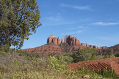 Cathedral Rock Scenic Landscape Royalty Free Stock Photo