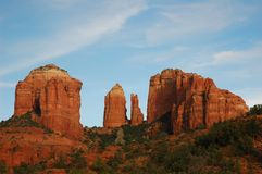 Cathedral rock in Sedona Stock Image
