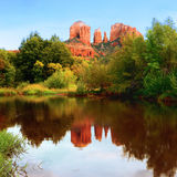 Cathedral Rock in Sedona, royalty free stock images