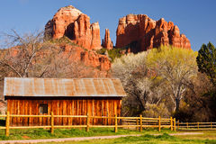 Cathedral Rock in Sedona, Arizona Stock Photos