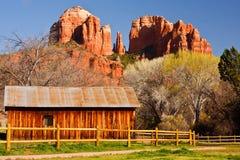 Cathedral Rock in Sedona, Arizona stock photos