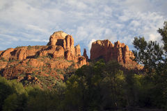 Cathedral Rock, Sedona, Arizona Stock Images