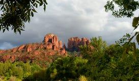 Cathedral rock  in sedona, arizona Royalty Free Stock Photos
