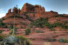 Cathedral Rock in Sedona, AZ. The backside of cathedral rock in Sedona, Arizona Stock Photos