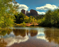 Cathedral Rock in Sedona, AZ Stock Image