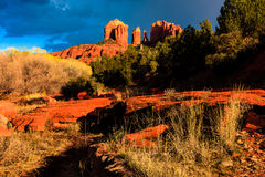Cathedral Rock Sedona Stock Image