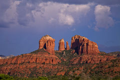Cathedral Rock Storm Stock Photos