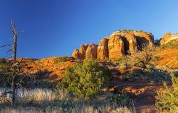 Cathedral Rock Sunset Landscape Sedona Arizona Stock Photos