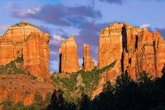 Cathedral Rock SunsetSedona Arizona stock image