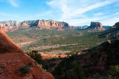 Cathedral Rock Trail No. 170 Stock Photo