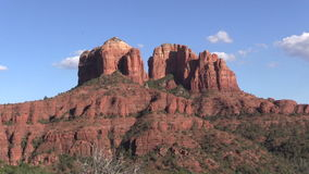 Cathedral Rock Zoom In Stock Photo