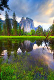 Cathedral Rocks Reflection Royalty Free Stock Photography