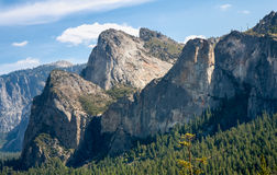 Cathedral Rocks Yosemite Stock Image