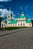 Cathedral with rocky road Stock Photography
