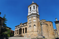Cathedral, Roda de Is�bena Stock Photo