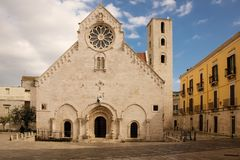 Cathedral. Ruvo di Puglia. Apulia. Italy. Cathedral, Romanesque Cathedral. Ruvo di Puglia. Apulia. Italy royalty free stock photo