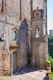 Cathedral of Ronciglione. Lazio. Italy. Royalty Free Stock Images