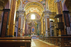 Cathedral of Ronciglione. Lazio. Italy. Stock Photos