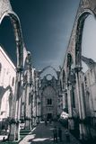 Cathedral without the roof royalty free stock photos