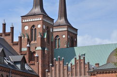 Cathedral Roskilde Denmark Harald Bluetooth Stock Photography