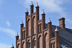 Cathedral roskilde denmark Stock Photography