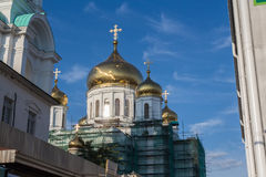 Cathedral of Rostov-on-Don stock images