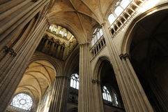 Cathedral of Rouen in Normandy Royalty Free Stock Photo