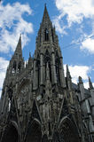 Cathedral of Rouen Stock Images
