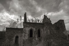 Cathedral ruins Royalty Free Stock Images