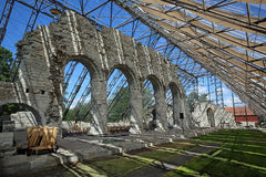 Cathedral Ruins Hamar Royalty Free Stock Photo