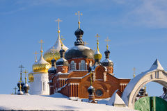 Cathedral in Russia Royalty Free Stock Images